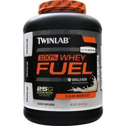 TWINLAB 100% Whey Fuel - Lean Muscle Vanilla Rush 5 lbs