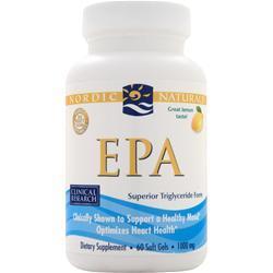 NORDIC NATURALS EPA Lemon 60 sgels