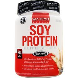 SIX STAR PRO NUTRITION Soy Protein Elite Series French Vanilla Cream 1.44 lbs