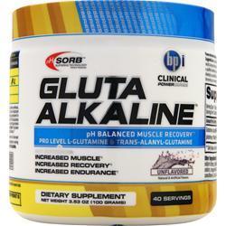 BPI Glutamine Alkaline Unflavored 100 grams