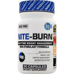 BPI Nite-Burn 30 caps