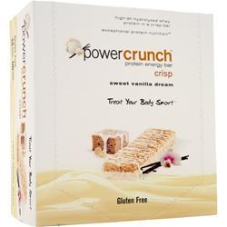 POWER CRUNCH Power Crunch Crisp Bar Sweet Vanilla Dream 12 bars