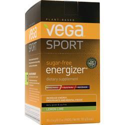 VEGA Vega Sport - Sugar Free Energizer Lemon Lime 30 pckts