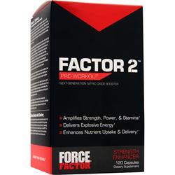 FORCE FACTOR Factor 2 120 caps