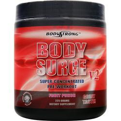 BODYSTRONG Body Surge V2 - Super Concentrated Pre-Workout Fruit Punch 225 grams