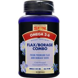 Health From The Sun Flax Borage Combo 90 sgels