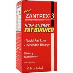 Zoller Laboratories Zantrex-3 High Energy Fat Burner 56 caps
