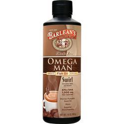 BARLEAN'S Omega Man - Fish Oil Mocha Java 16 oz