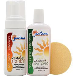 JAN TANA The Color Collection Hi-Definition Color and ph Balanced Skin Prep with Sponge Applicator 1 kit