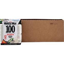 Cytosport Muscle Milk 100 Calorie RTD (14 fl.oz.) Vanilla Creme 24 cans