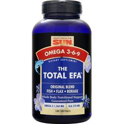 HEALTH FROM THE SUN Total EFA 180 sgels
