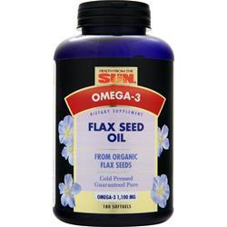 HEALTH FROM THE SUN Flax Seed Oil 180 sgels