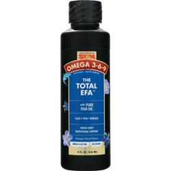 Health From The Sun The Total EFA with Pure Fish Oil Orange Clove 8 fl.oz