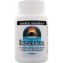 SOURCE NATURALS Resveratrol 60 tabs