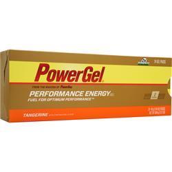 PowerBar PowerGel - Performance Energy Gel Tangerine w/ 2X Caffeine 24 pck
