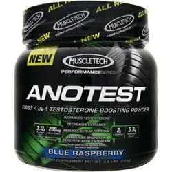 MUSCLETECH Anotest Blue Raspberry .6 lbs