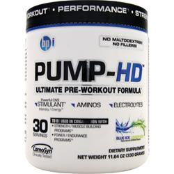 BPI Pump-HD Blue Ice Lemonade 330 grams