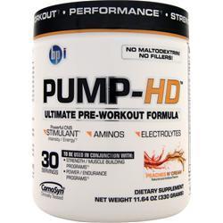 BPI Pump-HD Peaches N' Cream 330 grams