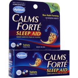 Hylands Homeopathic Calms Forte Sleep Aid 50 tabs