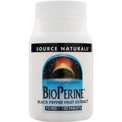 SOURCE NATURALS Bioperine 120 tabs