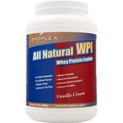 BIOPLEX NUTRITION All Natural WPI Vanilla Cream 2 lbs