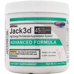 USP LABS Jack3d - Advanced Formula Watermelon 8.1 oz