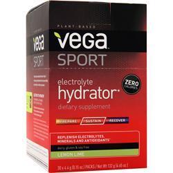 VEGA Vega Sport - Electrolyte Hydrator Lemon Lime 30 pckts