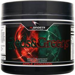 AI SPORTS NUTRITION Reds & Greens Apple Cinnamon 204 grams