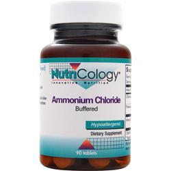 NUTRICOLOGY Ammonium Chloride - Buffered 90 tabs