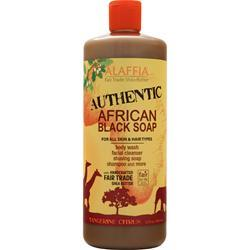 Alaffia African Black Soap Tangerine Citrus 32 fl.oz