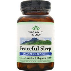 ORGANIC INDIA Peaceful Sleep 90 vcaps