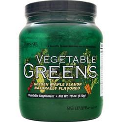 Ultimate Nutrition Vegetable Greens Golden Maple 18 oz