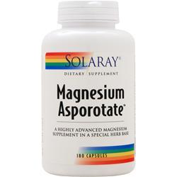 Solaray Magnesium Asporotate (400mg) 180 caps