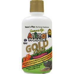 NATURE'S PLUS Animal Parade Gold Liquid Children's Multi Tropical Berry 30 fl.oz