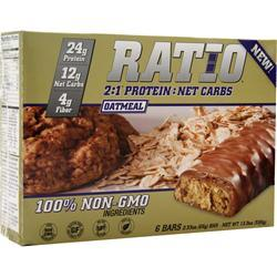 METRAGENIX Ratio 2:1 Bar Oatmeal 6 bars