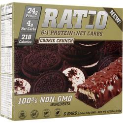 METRAGENIX Ratio 6:1 Bar Cookie Crunch 6 bars