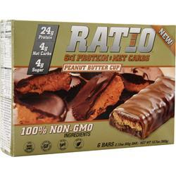 Metragenix Ratio 6:1 Bar Peanut Butter Cup 6 bars