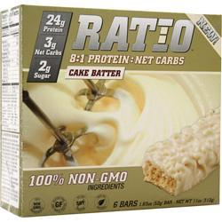 METRAGENIX Ratio 8:1 Bar Cake Batter 6 bars