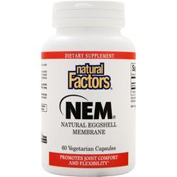 NATURAL FACTORS NEM - Natural Eggshell Membrane (500mg) 60 vcaps