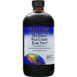 Planetary Formulas Old Indian Wild Cherry Bark Syrup with Echinacea 16 fl.oz