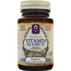 GENESIS TODAY Vitamin D3 (5,000IU) 60 sgels