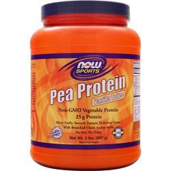 NOW Pea Protein Vanilla Toffee 2 lbs