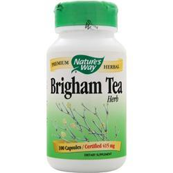 Nature's Way Brigham Tea Herb (830mg) 100 caps