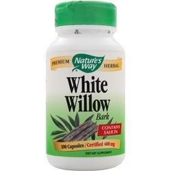 NATURE'S WAY White Willow Bark (800mg) 100 caps