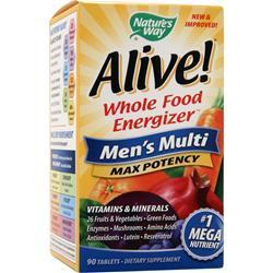 Nature's Way Alive Multivitamin - Men's Multi Max Potency 90 tabs