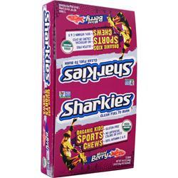 SHARKIES Kids Sports Chews Berry Blasters 12 pck