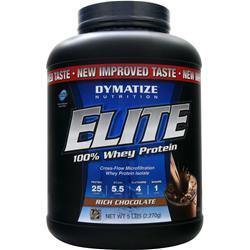 Dymatize Nutrition Elite 100% Whey Protein Rich Chocolate 5 lbs