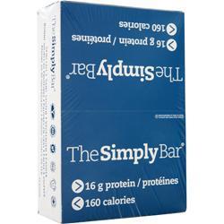 The Simply Bar The Simply Bar Cocoa Raspberry 15 bars