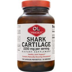 OLYMPIAN LABS Shark Cartilage (750mg) 100 caps