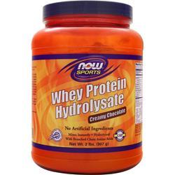 NOW Whey Protein Hydrolysate Creamy Chocolate 2 lbs